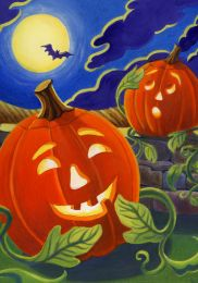 Happy Jack Halloween Holiday Seasonal Pumpkin Flags