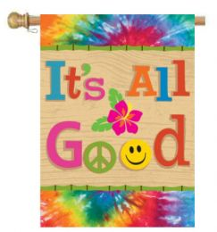 Life is Good Sayings Inspirational Decorative House Flag