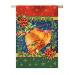 Christmas Bells Christmas Seasonal Standard House Flag