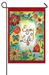 Field of Flowers (Enjoy Life) Spring Seasonal Garden Flag