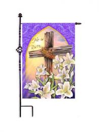 Old Rugged Cross Easter Spring Holiday Outdoor Garden Flag