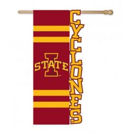 SAB Iowa State University Cyclones Logo Flag