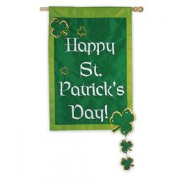 Outdoor Decorative Garden Flag - Happy St. Pat's