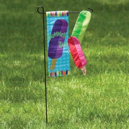 Popsicles Summer Seasonal Outdoor Garden Flag