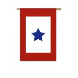 Military Star Support Troops Outdoor Garden Flag
