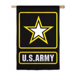 US Army Support Troops Outdoor Garden Flag