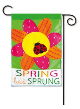 Outdoor Decorative Garden Flag - Spring has Sprung