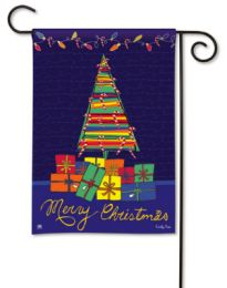 Wrapped & Ready Holiday or Christmas Seasonal Garden Flag