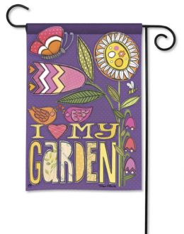 Love My Garden Decorative Seasonal Garden Flag