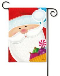 Santa's Here Christmas Holiday & Seasonal Garden Flag