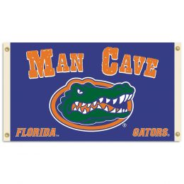 Florida Gators College Logo Man Cave 3' x 5' Flag w/ 4 Grommets