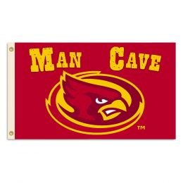 Iowa State Cyclones College Man Cave 3' x 5' Flag w/ 4 Grommets