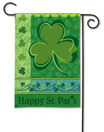 Outdoor Decorative Garden Flag - Happy St. Pat's Day