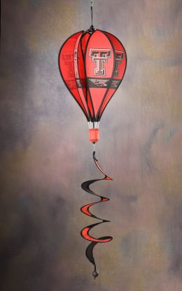 Texas Tech Red Raiders NCAA Team Logo Hot Air Balloon Spinner