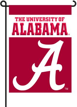 Alabama Crimson Tide 2-Sided Garden Flag