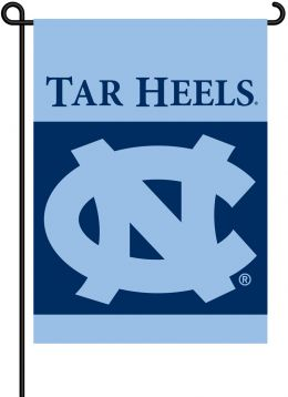 North Carolina Tar Heels 2-Sided Outdoor Garden Flag Team Logo