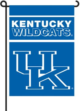 Kentucky Wildcats 2-Sided Outdoor Garden Flag College Logo