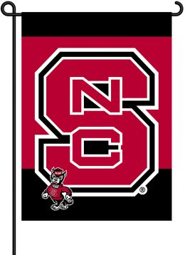 N. Carolina State Wolfpack 2-Sided Outdoor Garden Flag