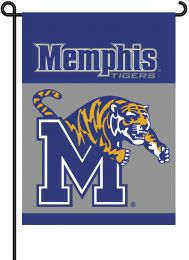 Memphis Tigers 2-Sided Outdoor Garden Flag College Team Logo