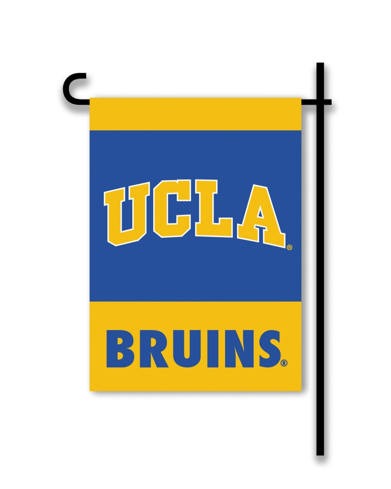 Ucla Bruins NCAA College Team Logo 2 Sided Outdoor Garden Flag