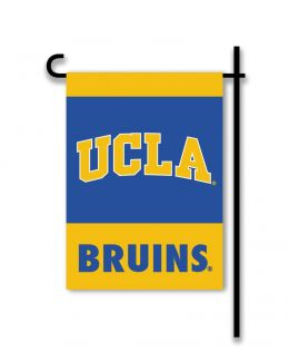 Ucla Bruins NCAA College Team Logo 2-Sided Outdoor Garden Flag