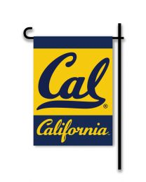 Cal Berkeley Golden Bears 2-Sided Outdoor Garden Flag NCAA Logo