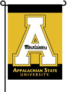 Appalachian State 2-Sided School Logo Outdoor Garden Flag