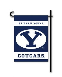Brigham Young Cougars 2-Sided Outdoor Garden Flag NCAA Logo