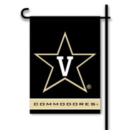 Vanderbilt Commodores 2-Sided Garden Flag College Team Logo