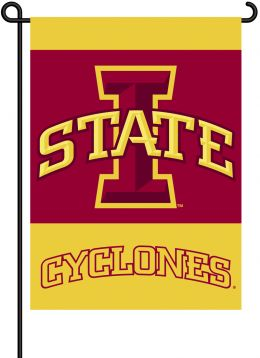 Iowa State Cyclones College Logo 2-Sided Outdoor Garden Flag