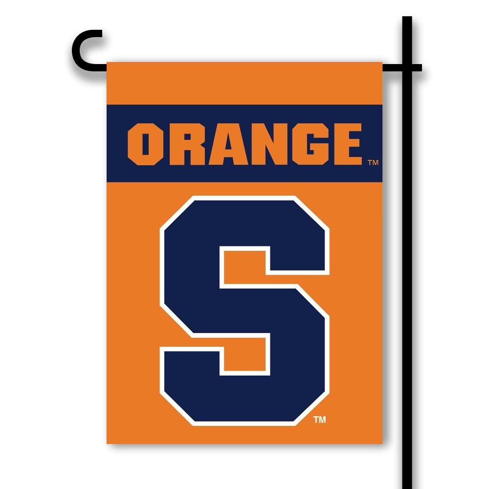 Syracuse Orange 2 Sided Outdoor Garden Flag College Team Logo
