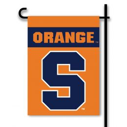 Syracuse Orange 2-Sided Outdoor Garden Flag College Team Logo