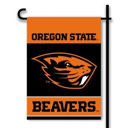 Oregon State Beavers 2-Sided Outdoor Garden Flag Team Logo