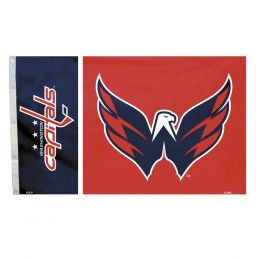 Washington Capitals NHL Team Logo  3' x 5' Flag w/Grommetts