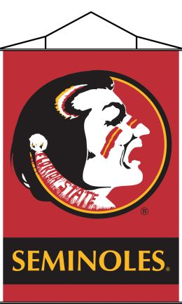 Florida State Seminoles Indoor Banner Scroll w/ Hanger String