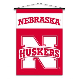 Nebraska Cornhuskers Indoor Banner Scroll w/ Hanger String