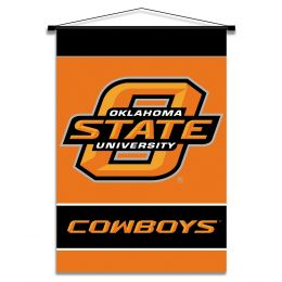 Oklahoma State Cowboys Indoor Banner Scroll Team Logo