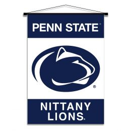 Penn State Nittany Lions Indoor Banner Scroll w/ Hanger String