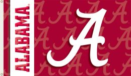 Alabama Crimson Tide 2-Sided 3' x 5' Flag w/Grommets
