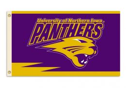 Northern Iowa 2-Sided 3' x 5' Flag w/Grommets NCAA Team Logo