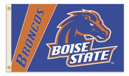 Boise State Broncos College Logo 2-Sided 3' x 5' Flag w/Grommets