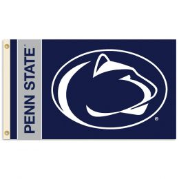 Penn State Nittany Lions 2-Sided 3' x 5' Flag w/Grommets Team Logo