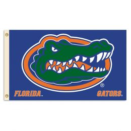 Florida Gators NCAA College Logo 2-Sided 3' x 5' Flag w/Grommets