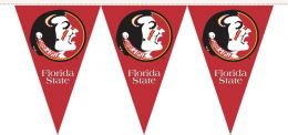 Florida State Seminoles College Logo 25 Ft. Party Pennant Flags