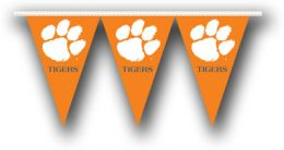 Clemson Tigers College Logo 25 Ft. Party Pennant Flags