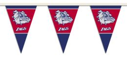 Gonzaga Bulldogs 25 Ft. Party Pennant Flags College Team Logo
