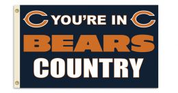 Chicago Bears NFL Team Logo 3' x 5' Flag w/Grommetts