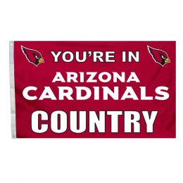 Arizona Cardinals Country NFL 3' x 5' Polyester Flag w/Grommetts