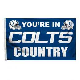 Indianapolis Colts NFL Team Logo 3' x 5' Flag w/Grommetts