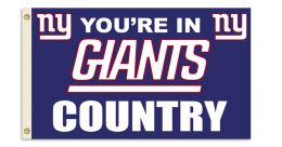 New York Giants 3' x 5' Flag w/Grommetts NFL Team Logo